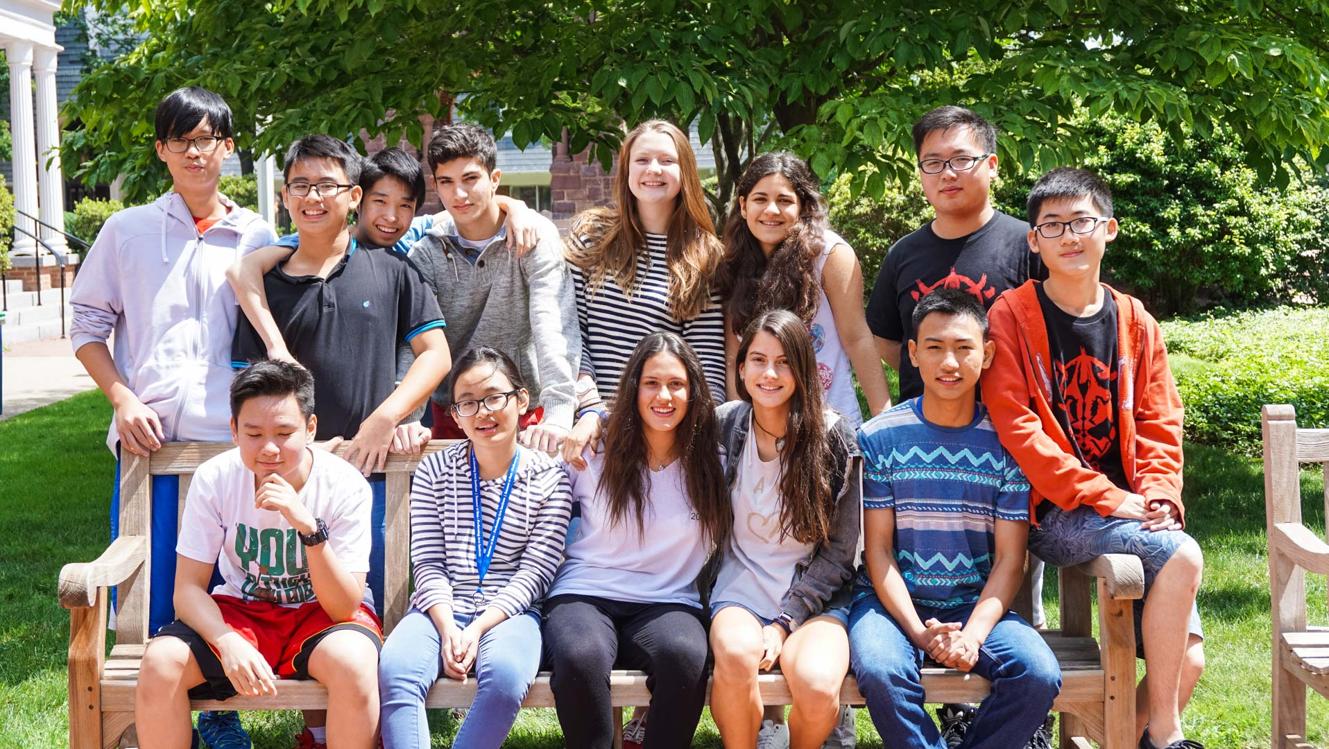 Group of students in English Language Institute
